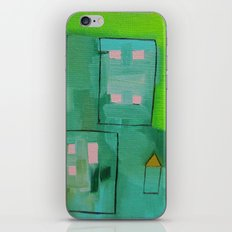 Tiny Houses iPhone & iPod Skin
