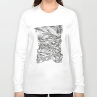 silver Long Sleeve T-shirts featuring Silver by Roscoe
