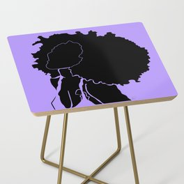 purple Side Table