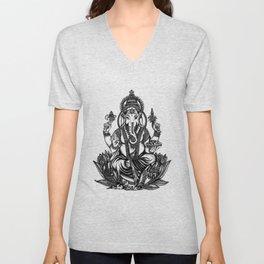 Ganesh Unisex V-Neck
