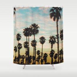 Palm Tree Sky Shower Curtain