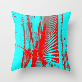 The Alley II Throw Pillow