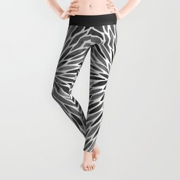 Blackened Burst Leggings