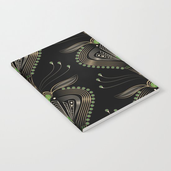 Art Deco . Aphrodite . Notebook