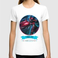 league T-shirts featuring League Of Legends - Caitlyn by TheDrawingDuo