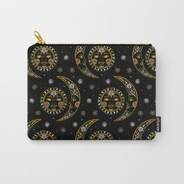 Celestial pattern in tribal style and ethnic motif Carry-All Pouch