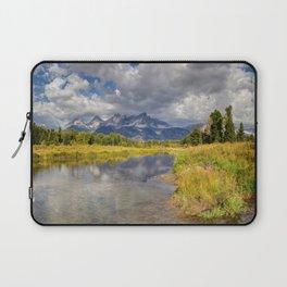 The Grand Tetons Panorama Laptop Sleeve