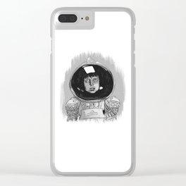 Ellen Ripley Alien Clear iPhone Case