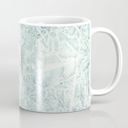 Poplar Leaf in Ice Coffee Mug