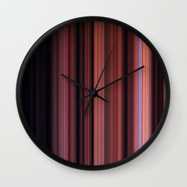 Digital Stripes Come Out To Play ver.1 Wall Clock