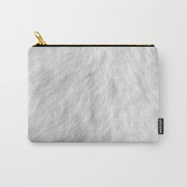 Goat fur Carry-All Pouch