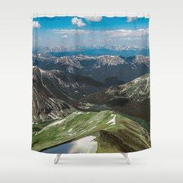 Summit the 14er Shower Curtain