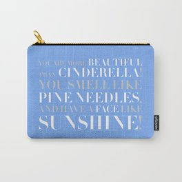 Bridesmaids Wedding Pine Needles Sunshine Carry-All Pouch