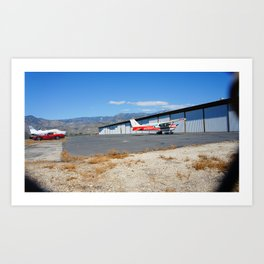cars and planes Art Print