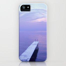 Long Dock Coastal Potography iPhone Case