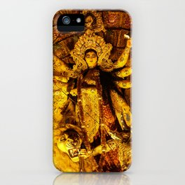 Goddess Durga iPhone Case