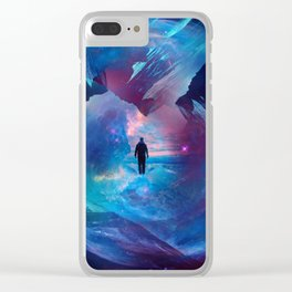 I am tired of earth Dr manhattan Clear iPhone Case