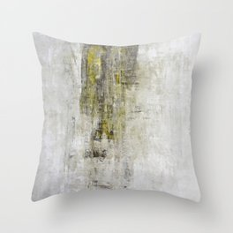 """""""1201 abstract two angels"""" Throw Pillow"""