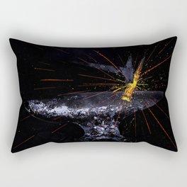 Blacksmith Forge Anvil Fire Rectangular Pillow