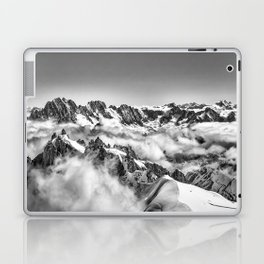 Alps in the Clouds Laptop & iPad Skin