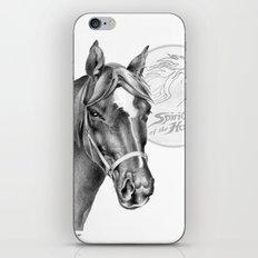 Barney the Hunter: Spirit of the Horse iPhone & iPod Skin