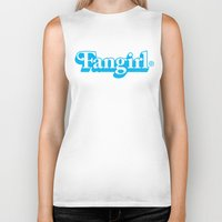fangirl Biker Tanks featuring Fangirl by Aaron Synaptyx Fimister