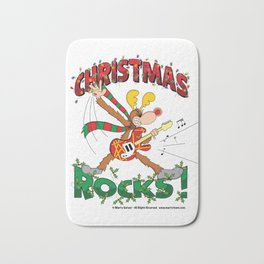 Christmas Rock Bath Mat