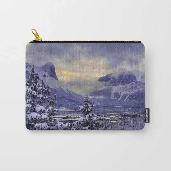 Winter Wonderland #snow Carry-All Pouch