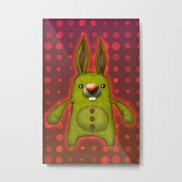 Bunny rag doll  Metal Print