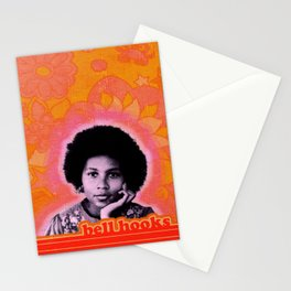 bell hooks retro print Stationery Cards