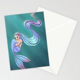 Playful Mermaid Stationery Cards