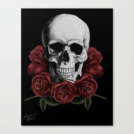 BOUQUET OF DEATH Canvas Print