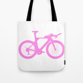 Bike Pink Tote Bag