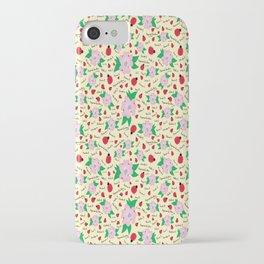 Dreaming Ladybugs and Dogwood Flowers iPhone Case
