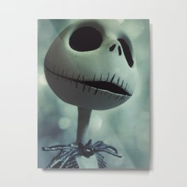 Jack Skellington (Nightmare Before Christmas) Metal Print