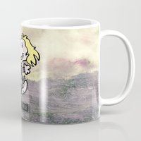 snoopy Mugs featuring Beaglejuice by Ivan Guerrero