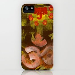 Sleeping Ganesh iPhone Case