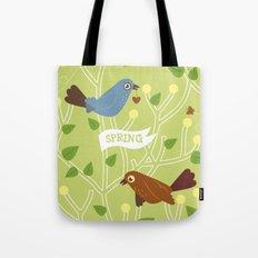 4 Seasons - Spring Tote Bag