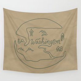 Washington State Wall Tapestry