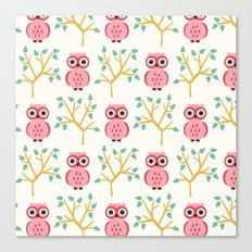 Owl Grove Canvas Print