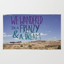 Frenzy + Dream Rug