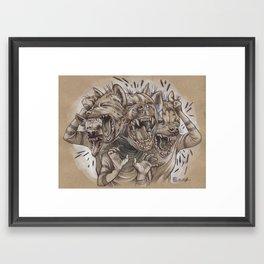 A Sense of Humor Framed Art Print