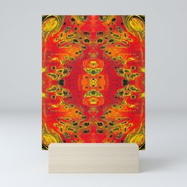 Magma Overtones Mini Art Print