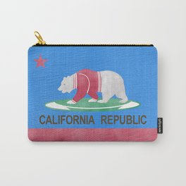 Polar Bear In California Carry-All Pouch
