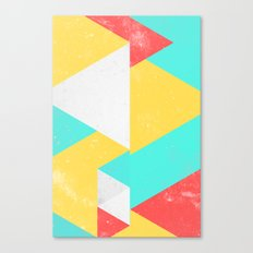 Triangle Pattern I Canvas Print