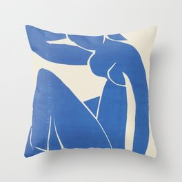 Blue Nude by Henri Matisse  Throw Pillow