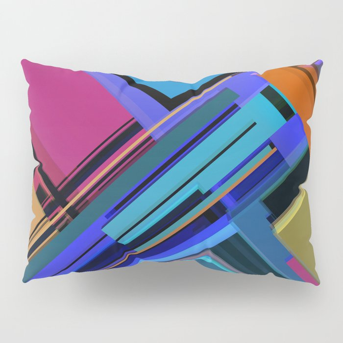Abstract Composition 611 Pillow Sham