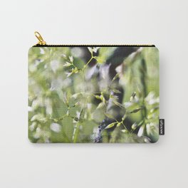 Blades Of Grass On Wire Fence Carry-All Pouch