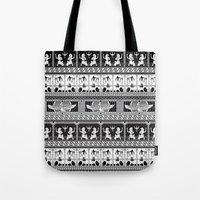 egyptian Tote Bags featuring Egyptian by Printed Village