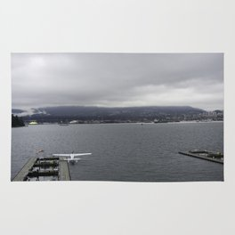 Seaplane and Stanley Park Rug
